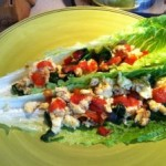 Romaine Breakfast Wraps