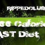 My 3200 Calorie BEAST Diet
