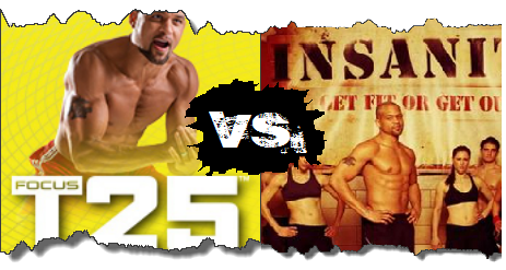 T25 vs Insanity | Is Less Really More? | RIPPEDCLUB