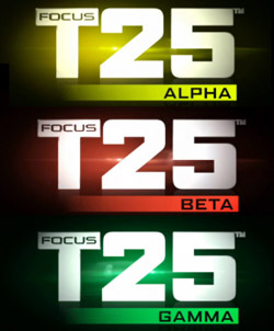 focus t25 workout schedule