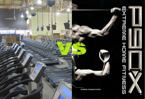 P90X vs The Gym