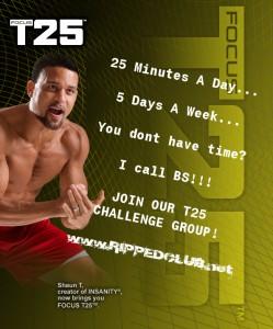 t25 challenge