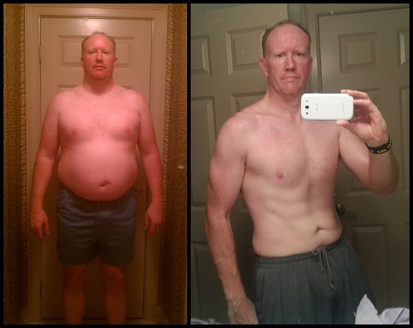 Sean's 90 Day P90X Results
