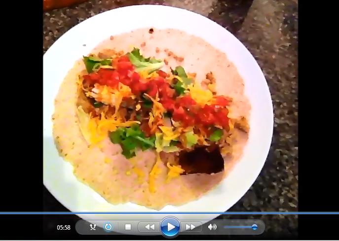 My Fat Shredder Burritos