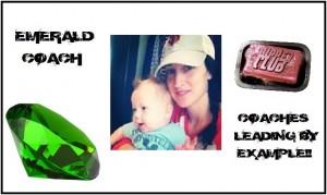 Emerald Coach Congrats joslyn