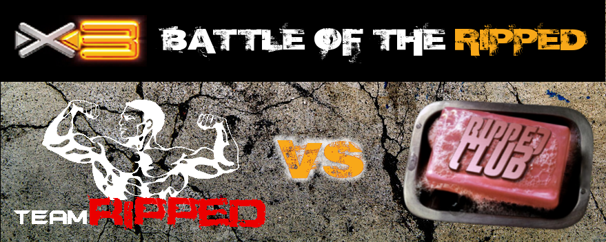 RIPPEDCLUB'S X3 CHALLENGE – BATTLE OF THE RIPPED