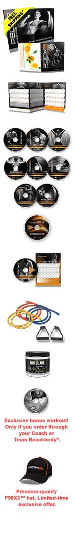 P90X3 Deluxe Kit