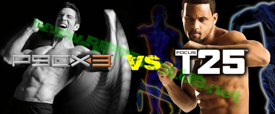 P90X3 vs Focus T25
