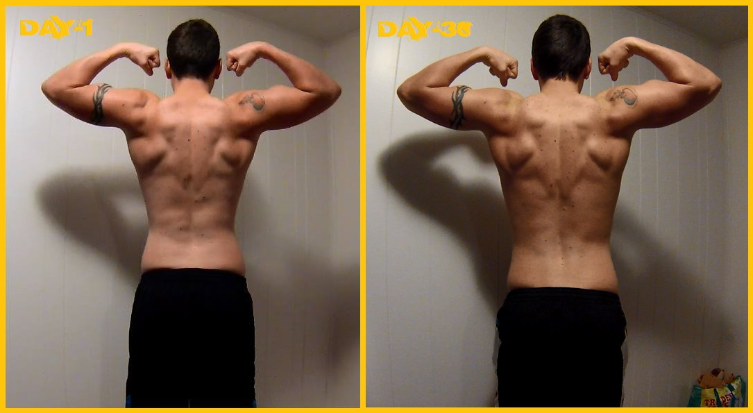P90X3 BLOCK-1 Results FLEX BACK