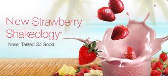 regular strawberry shakeology
