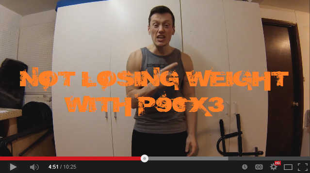 P90X3…NOT Losing Weight!