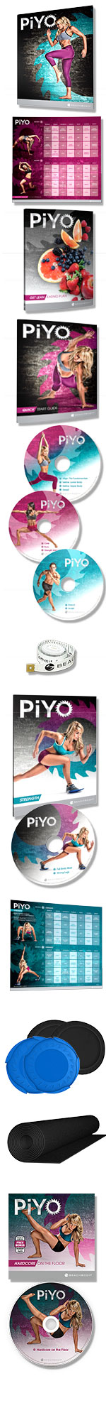 PiYo Deluxe DVD Kit