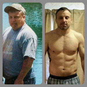 before & after Brian T25