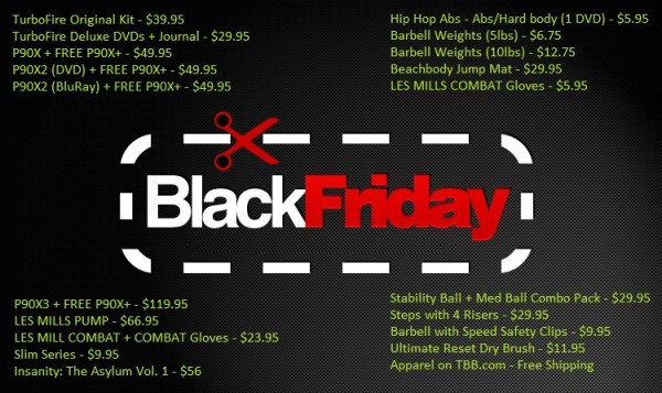 black friday - team beachbody