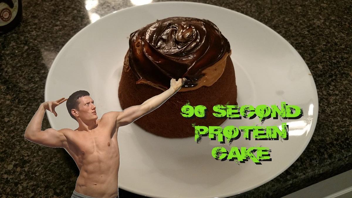 90sec Protein Cake