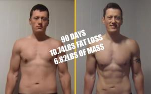 P90X3 skinny fat