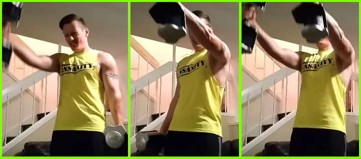 build shoulders 1-1-2 front raise