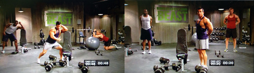 build chest and tris cool down