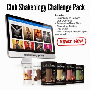 club and shakeology challenge pack