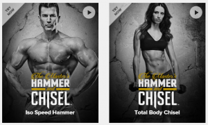 hammer and chisel workout preview