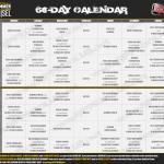 Hammer & Chisel Workout Schedule