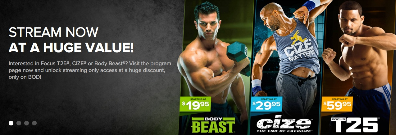 beachbody on demand streaming access