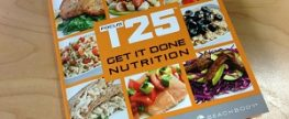 Focus T25 Nutrition Plan